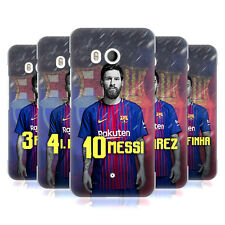 OFFICIAL FC BARCELONA 2017/18 FIRST TEAM GROUP 1 HARD BACK CASE FOR HTC PHONES 1