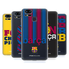 OFFICIAL FC BARCELONA 2017/18 CAMPIONS SOFT GEL CASE FOR ASUS ZENFONE PHONES