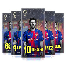 OFFICIAL FC BARCELONA 2017/18 FIRST TEAM GROUP 1 SOFT GEL CASE FOR SONY PHONES 1