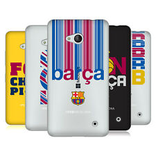 OFFICIAL FC BARCELONA 2017/18 CAMPIONS SOFT GEL CASE FOR MICROSOFT PHONES