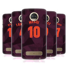 OFFICIAL FC BARCELONA 2017/18 PLAYERS THIRD KIT 1 CASE FOR MOTOROLA PHONES 1