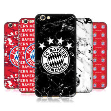 OFFICIAL FC BAYERN MUNICH 2017/18 PATTERNS SOFT GEL CASE FOR OPPO PHONES