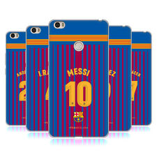 OFFICIAL FC BARCELONA 2017/18 PLAYERS HOME KIT 1 GEL CASE FOR XIAOMI PHONES 2