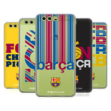 OFFICIAL FC BARCELONA 2017/18 CAMPIONS SOFT GEL CASE FOR HUAWEI PHONES