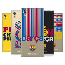 OFFICIAL FC BARCELONA 2017/18 CAMPIONS SOFT GEL CASE FOR SONY PHONES 1