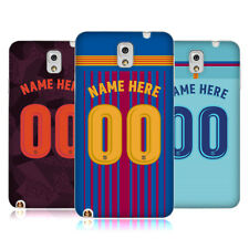 CUSTOM PERSONALISED FC BARCELONA 2017/18 KIT SOFT GEL CASE FOR SAMSUNG PHONES 2