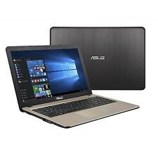 "NEW! Asus Vivobook X540na 15.6 "" Hd Laptop Chocolate Black Intel Celeron N3350u"