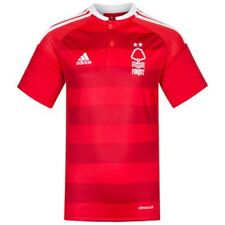 Nottingham Forest FC Adidas Enfants Heim Football Fan Maillot Rouge AP8620