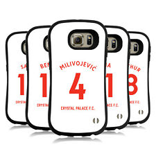 CRYSTAL PALACE FC 2018/19 PLAYERS AWAY KIT 1 HYBRID CASE FOR SAMSUNG PHONES