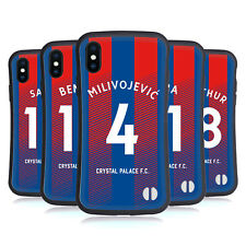 CRYSTAL PALACE FC 2018/19 PLAYERS HOME KIT 1 HYBRID CASE FOR APPLE iPHONES PHONE