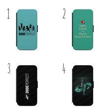 Dude Perfetto Logo Sport Youtuber Cover Custodia Flip Iphone & Samsung