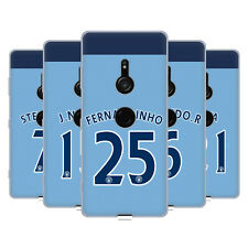 MANCHESTER CITY MAN CITY FC PLAYER HOME KIT 2016/17 2 GEL CASE FOR SONY PHONES 1