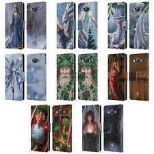 OFFICIAL ANNE STOKES YULE LEATHER BOOK WALLET CASE COVER FOR SAMSUNG PHONES 2