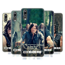 OFFICIAL AMC THE WALKING DEAD DARYL DIXON SOFT GEL CASE FOR HUAWEI PHONES