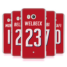 OFFICIAL ARSENAL FC PLAYERS HOME KIT 17/18 GROUP 1 BACK CASE FOR HTC PHONES 1