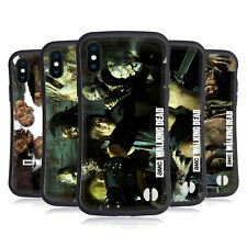 AMC THE WALKING DEAD WALKERS AND CHARACTERS HYBRID CASE FOR APPLE iPHONES PHONES