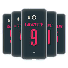 OFFICIAL ARSENAL FC 2017/18 PLAYERS THIRD KIT GROUP 2 GEL CASE FOR HTC PHONES 1