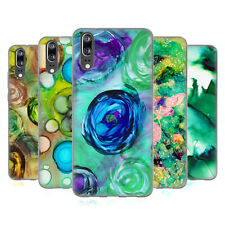 OFFICIAL HAROULITA LUSH JUNGLE INK SOFT GEL CASE FOR HUAWEI PHONES