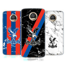 OFFICIAL CRYSTAL PALACE FC 2017/18 MARBLE SOFT GEL CASE FOR MOTOROLA PHONES