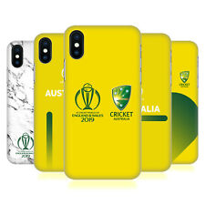 OFFICIAL ICC AUSTRALIA CRICKET WORLD CUP HARD BACK CASE FOR APPLE iPHONE PHONES