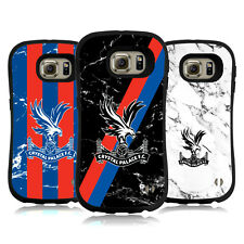OFFICIAL CRYSTAL PALACE FC 2017/18 MARBLE HYBRID CASE FOR SAMSUNG PHONES