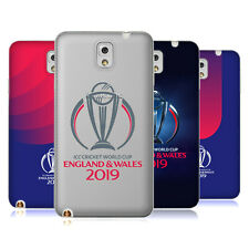 OFFICIAL ICC CWC 2019 CRICKET WORLD CUP SOFT GEL CASE FOR SAMSUNG PHONES 2