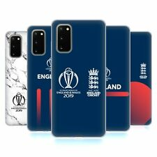OFFICIAL ICC ENGLAND CRICKET WORLD CUP SOFT GEL CASE FOR SAMSUNG PHONES 1
