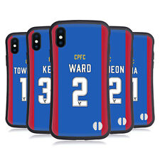 OFFICIAL CRYSTAL PALACE FC 2016/17 HOME KIT HYBRID CASE FOR APPLE iPHONES PHONES