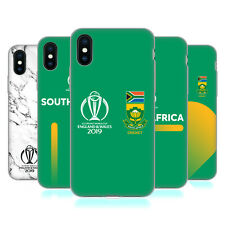 OFFICIAL ICC SOUTH AFRICA CRICKET WORLD CUP GEL CASE FOR APPLE iPHONE PHONES