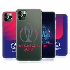 OFFICIAL ICC CWC 2019 CRICKET WORLD CUP SOFT GEL CASE FOR APPLE iPHONE PHONES