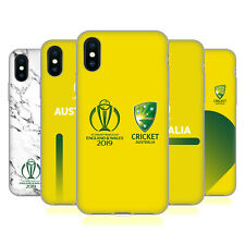 OFFICIAL ICC AUSTRALIA CRICKET WORLD CUP SOFT GEL CASE FOR APPLE iPHONE PHONES