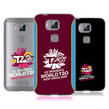 OFFICIAL ICC WOMEN'S WORLD T20 CRICKET SOFT GEL CASE FOR HUAWEI PHONES 2