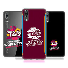 OFFICIAL ICC WOMEN'S WORLD T20 CRICKET SOFT GEL CASE FOR HUAWEI PHONES