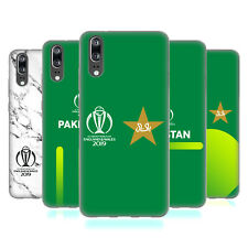 OFFICIAL ICC PAKISTAN CRICKET WORLD CUP SOFT GEL CASE FOR HUAWEI PHONES