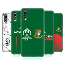 OFFICIAL ICC BANGLADESH CRICKET WORLD CUP SOFT GEL CASE FOR HUAWEI PHONES