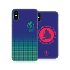OFFICIAL ICC TYPOGRAPHY CRICKET WORLD CUP HARD BACK CASE FOR APPLE iPHONE PHONES