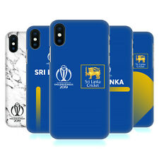 OFFICIAL ICC SRI LANKA CRICKET WORLD CUP HARD BACK CASE FOR APPLE iPHONE PHONES