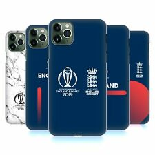 OFFICIAL ICC ENGLAND CRICKET WORLD CUP HARD BACK CASE FOR APPLE iPHONE PHONES