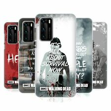 OFFICIAL AMC THE WALKING DEAD QUOTES HARD BACK CASE FOR HUAWEI PHONES 1