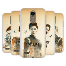 OFFICIAL STAR TREK DISCOVERY GRUNGE CHARACTERS SOFT GEL CASE FOR LG PHONES 1
