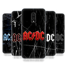 OFFICIAL AC/DC ACDC LOGO SOFT GEL CASE FOR AMAZON ASUS ONEPLUS