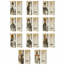 STAR TREK DISCOVERY GRUNGE CHARACTERS LEATHER BOOK CASE FOR MICROSOFT PHONES