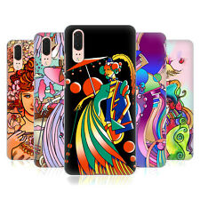 OFFICIAL HOWIE GREEN LADIES ABSTRACT HARD BACK CASE FOR HUAWEI PHONES 1