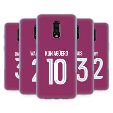 MAN CITY FC 2017/18 PLAYERS AWAY KIT GROUP 2 GEL CASE FOR AMAZON ASUS ONEPLUS