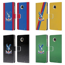 CRYSTAL PALACE FC 2016/17 PLAYERS KIT LEATHER BOOK CASE FOR MOTOROLA PHONES