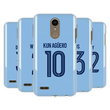 MANCHESTER CITY MAN CITY FC 2017/18 PLAYERS HOME KIT 2 BACK CASE FOR LG PHONES 1