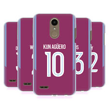 MANCHESTER CITY MAN CITY FC 2017/18 PLAYERS AWAY KIT 2 BACK CASE FOR LG PHONES 1