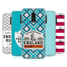 OFFICIAL ENGLAND RUGBY UNION 2017/18 HERITAGE GEL CASE FOR AMAZON ASUS ONEPLUS