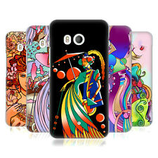 OFFICIAL HOWIE GREEN LADIES ABSTRACT HARD BACK CASE FOR HTC PHONES 1