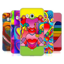 OFFICIAL HOWIE GREEN HEARTS HARD BACK CASE FOR HTC PHONES 1